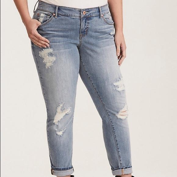1ad9711a98c NWT Torrid Boyfriend Jeans Size 16